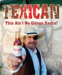 Texican Hot Sauce from Dixie Dude Ranch